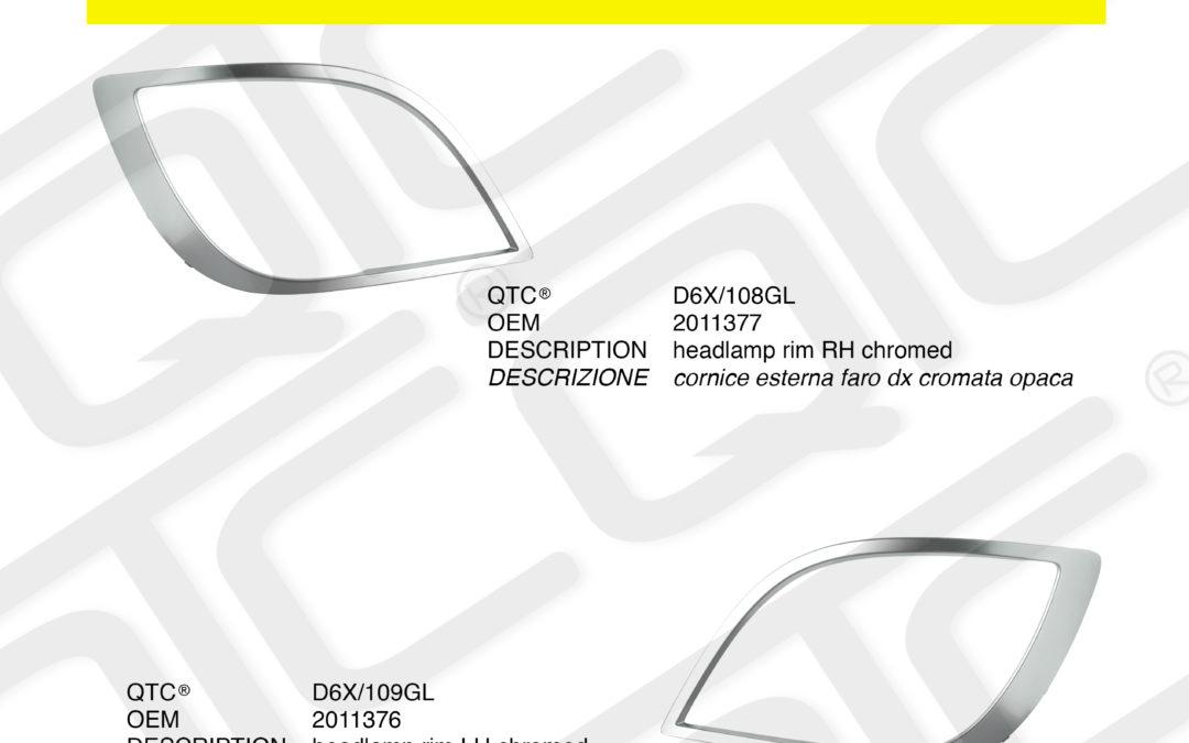 New product DAF D6X/108GL D6X/109GL