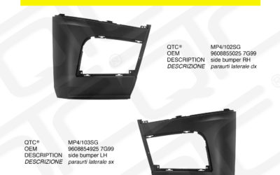 New product MERCEDES MP4/102SG MP4/103SG