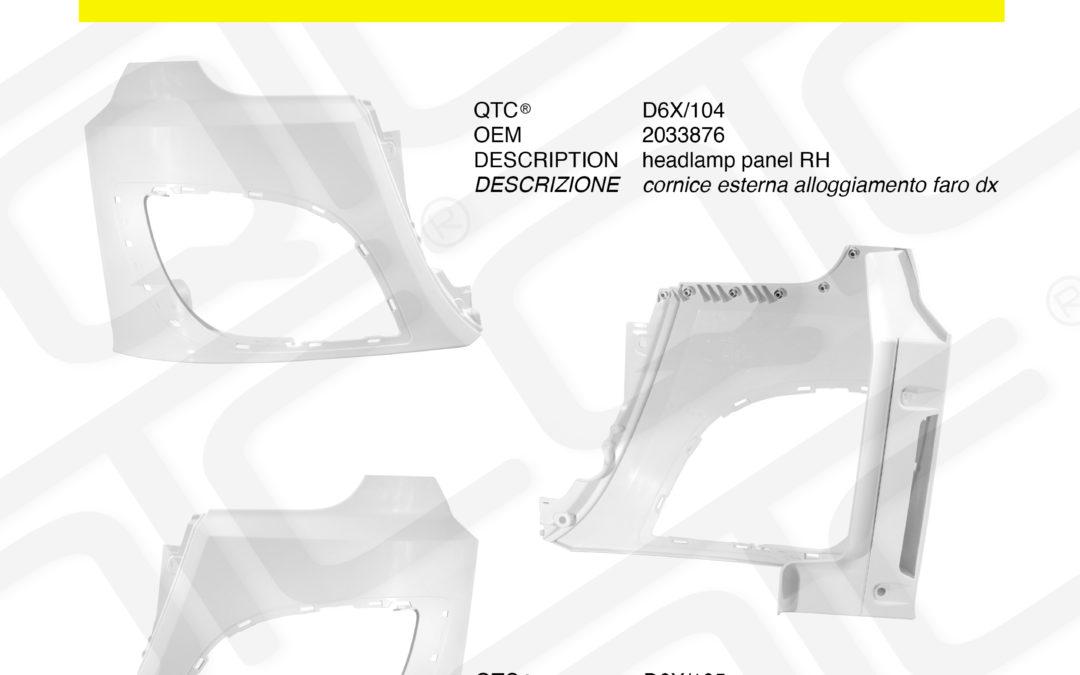 New product DAF D6X/104 D6X/105