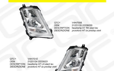 New product VOLVO V4H/700E V4H/701E