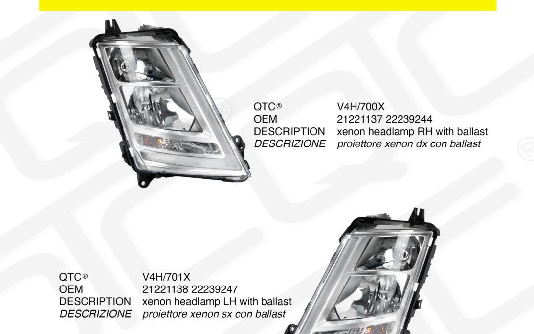 New product VOLVO V4H/700X V4H/701X