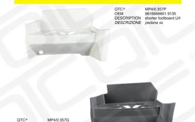New product MERCEDES MP4/0.357P MP4/0.357G