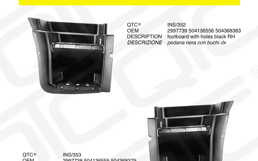 New product IVECO INS/352 INS/353