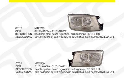 New product MAN MTX/708 MTX/709