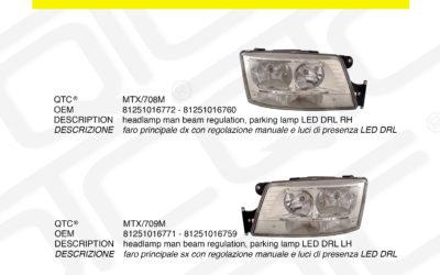New product MAN MTX/708M MTX/709M