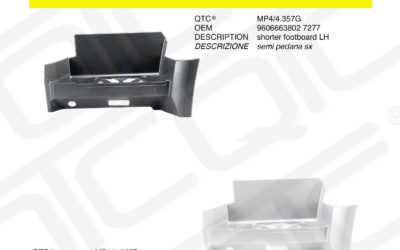 New product MERCEDES MP4/4.357G MP4/4.357P