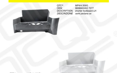 New product MERCEDES MP4/4.359G MP4/4.359P